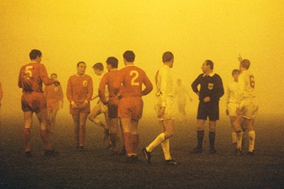 Mooie plaat, maar wat is die gele gloed? © Guus de Jong/SV Ajax