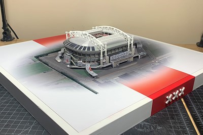 Ajax hup, rood-witte schare! © David Resnik