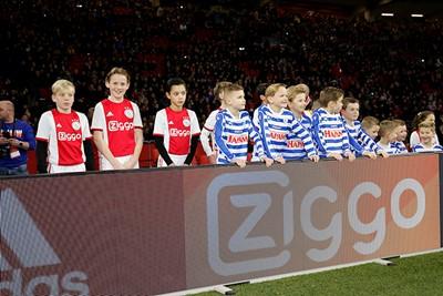 Maar eens een kijkje nemen in het stadion. © De Brouwer