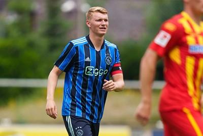 Deze foto mag je inlijsten, Perr! © AFC Ajax