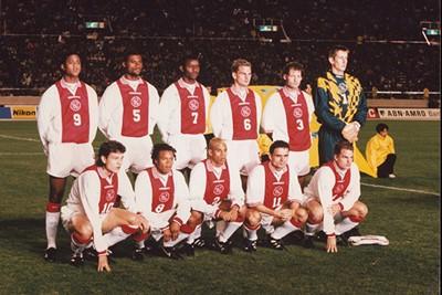 Zo hoort een elftalfoto eruit te zien. Wereldbekerwaardig! © Ajax Images