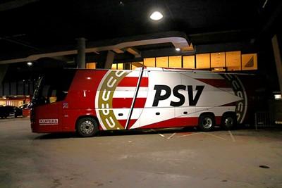 PSV parkeert de bus, maar zou heel snel scoren. © De Brouwer