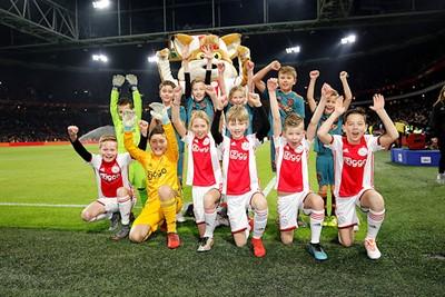 Gelukkig, ook deze deelnemertjes kunnen juichen! © De Brouwer