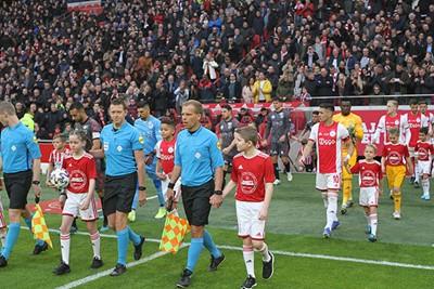 Kijk, daar gaan we voor het eerst in 2020 het veld op! © Ajax Kids Club