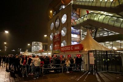 De rijen bij de ingang zijn dit keer een goed teken! © De Brouwer