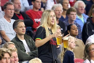Ook deze biertjes worden keurig opgedronken, geen zorgen. © De Brouwer