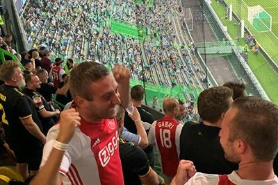 Pffff, wat staat Ajax lekker te voetballen! © Ajax Life