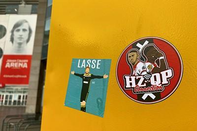 Good old Lasse plus de HZ/QP-connectie! © Ajax Life