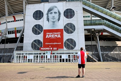 Ja, er zijn weer Ajacieden welkom in de Johan Cruijff Arena! © De Brouwer