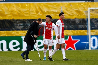 Terug naar Ajax, waar Blind onderdeel wordt van de feestvreugde! © De Brouwer