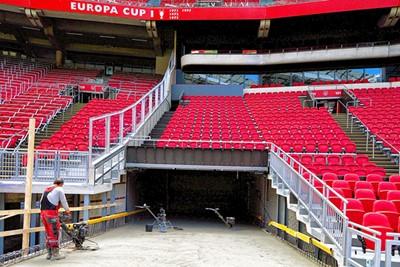 En zo mét stoeltjes. Echt heel gaaf! © Johan Cruijff Arena
