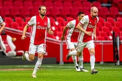 Gelukkig voelt Klaassen in Ajaxshirt wel gewoon oud en vertrouwd! © Pro Shots