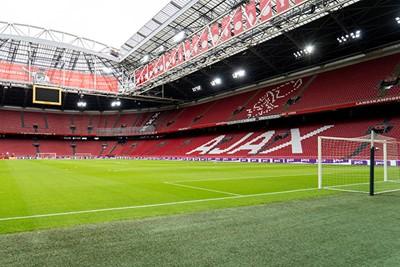 De JC Arena is zo leeg dat het bijna akelig voelt... © Pro Shots