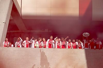 De spelers misten de supporters en de supporters de spelers. © De Brouwer