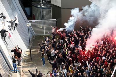 Als de Arena wordt beklommen, dan weet je dat Ajax goede zaken heeft gedaan. © De Brouwer