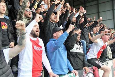 We zien alweer dat Ajax met plezier staat te spelen. © Ajax Life