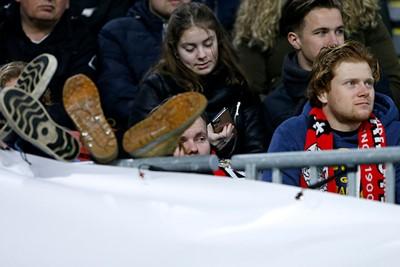 Je voelt je in deze tijden al snel thuis bij Ajax, begrijpelijk! © De Brouwer