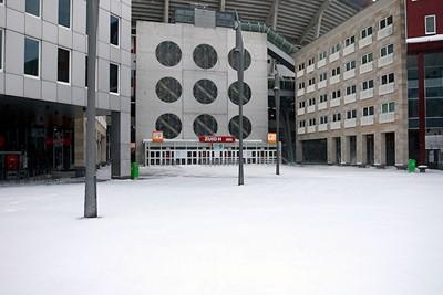 Onaangeroerde sneeuw is nog altijd beter dan helemaal kaal. © De Brouwer