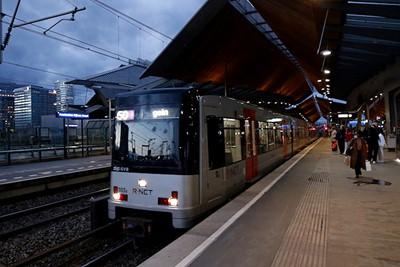 En ook de metro rijdt gewoon! © De Brouwer