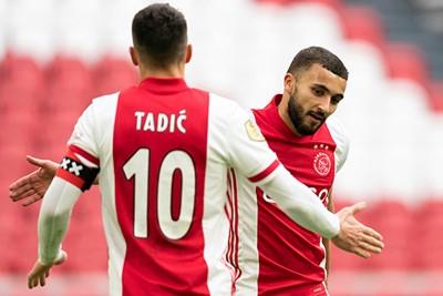 Labyad is Tadic dankbaar voor een prima assist. © Pro Shots