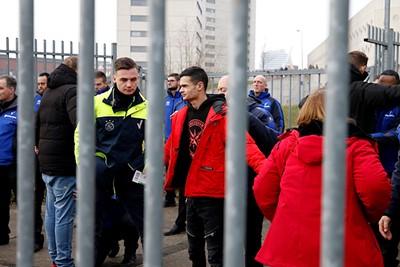 Zo bekeken is het net een gevangenis... © De Brouwer