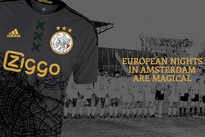 Hier zien we een stukje Amsterdam in het shirt verwerkt. © Mark van Lith