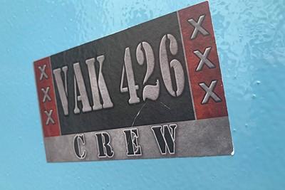 Er zijn vele crews en dit is er eentje van. © Ajax Life