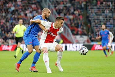 Tadic zou na afloop erkennen dat Ajax er vooraf te makkelijk over dacht. © De Brouwer