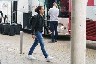 Fitz-Jim gaat hier niet op schoolreisje, maar zit bij de selectie voor Vitesse-uit. © Pro Shots