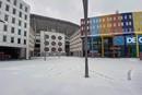 Lekkere plaatjes van de Johan Cruijff Arena in de sneeuw!