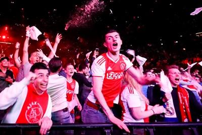 AMSTERDAM , 13-02-2019 , Ziggo Dome , viewing party Ajax vs Real Madrid