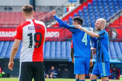 Al claimt Álvarez het doelpunt stiekem ook een beetje. © Pro Shots