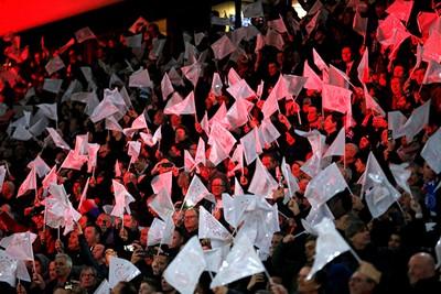 Voor de vlaggetjes maakt EL of CL eigenlijk niet zo veel uit. Blijft leuk! © De Brouwer