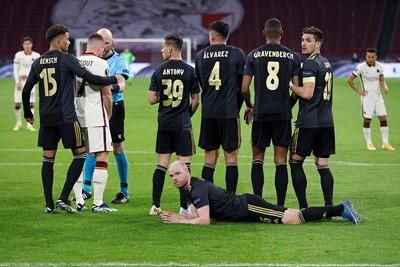 Naast doelpuntenmaker, dient Klaassen ook uitstekend als muurligger. © Pro Shots