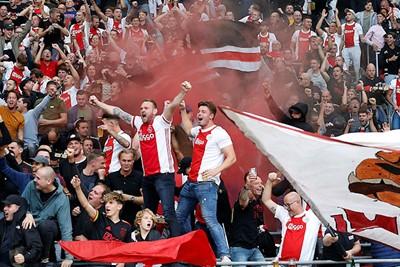 Champions League-avondje in één beeld gevat. © De Brouwer
