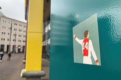 Cruijff blijft menigeen de weg wijzen. © Ajax Life
