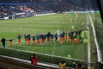 Samen juichen na een overwinning! © De Brouwer