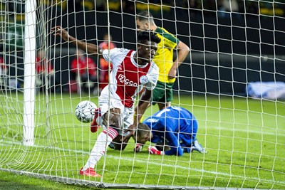 Kudus viert zijn rentree in Ajax 1 met een treffer! © Pro Shots
