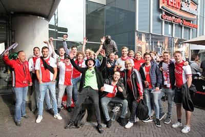 Kijk, als dat de winnaars van onze #Kaartenjacht niet zijn! © Ajax Life
