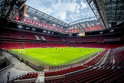 Oh ja, wat is de Johan Cruijff Arena mooi met dichte hoeken! © Pro Shots