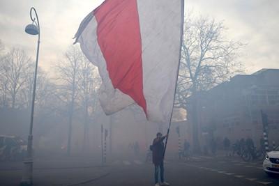 Heerlijke vlag, deel twee. © De Brouwer