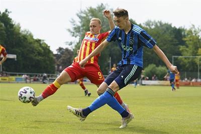 Baas is één van de talenten die hoopt mee te mogen naar Oostenrijk. © AFC Ajax