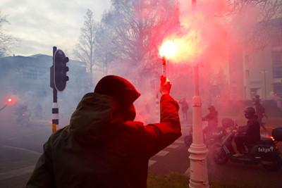 Werk gedaan, nu is het aan Ajax. © De Brouwer
