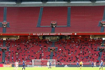 Al blijft het uiteraard wel pijn doen om zulke lege tribunes te zien. © De Brouwer