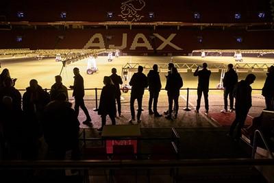 De JC Arena in het donker is eigenlijk ook best tof. © Pro Shots