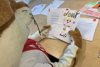 Sprekend Donny van de Beek, zeg nou zelf! © Ajax Kids Club