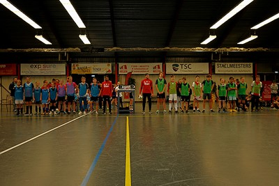 De finale... Team Huntelaar vs Team Ziyech! © De Brouwer