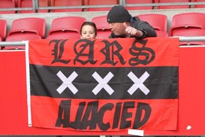 Kijk, de voetballoze periode is door deze Ajacieden prima benut! © Ajax Life