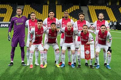 Als je een kwartfinale haalt, dan moet de elftalplaat in het verslag. © Pro Shots