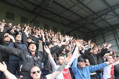Ajax blijft scoren en zij laten zich horen! © Ajax Life